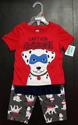 Child of Mine Carter's 3pc Toddler Boys Pajamas Set 2T 3T OR 4T PUPPY SLEEPWEAR