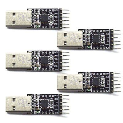 5x 6Pin USB 2.0 to TTL UART Serial Converter CP2102 STC Replace Ft232 Module