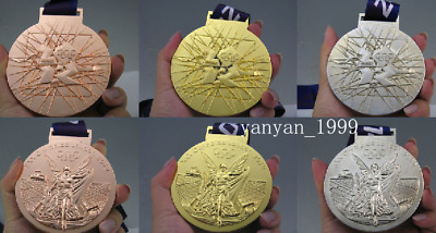 London 2012 Olympic Gold Silver Bronze Medals Complete Set 1:1/ Ribbons
