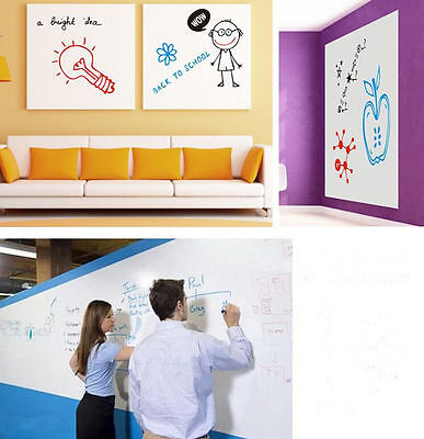 Single Side Adhesive Writing Film Whiteboard Dry Erase Board For Teaching Record