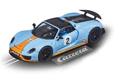 Carrera 1/32 Evolution Porsche 918 Spyder Gulf Racing No.2 # 27549