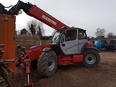 Manitou Mt 1840, 4 Wheel  Drive ( Final Reduction ).