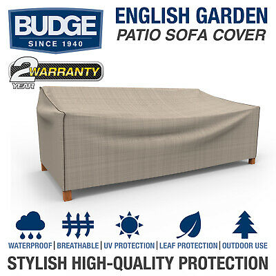 Budge English Garden Waterproof Patio Sofa Cover | Multiple Sizes | Waterproof