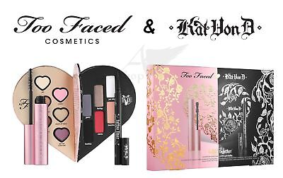 Too Faced Kat Von D Better Together makeup palette,mascara,tatoo liner GENUINE!