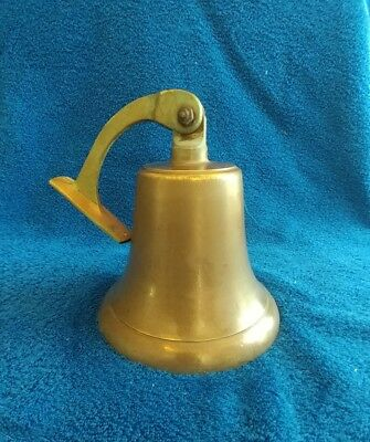 Vintage Ship Bell Antique Nautical Solid Brass Marine Boat Home Decor Door Bells