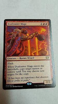 1x DUALCASTER MAGE - Rare - Commander - MTG  NM - Magic the Gathering