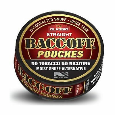 BaccOff Gen II Straight Pouches (5 Cans) 5 Cans