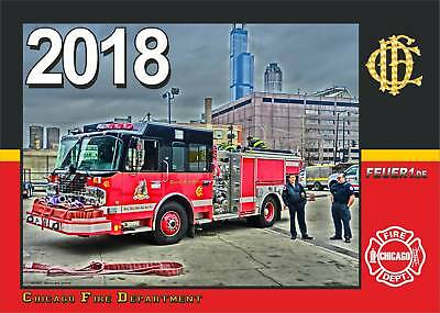Kalender 2018 Chicago Fire Deptartment (3.Jahrgang) - limitiert -