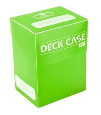 Deck Case 80+ Standard Size - Light Green Ultimate Guard Card Case New UGD010252