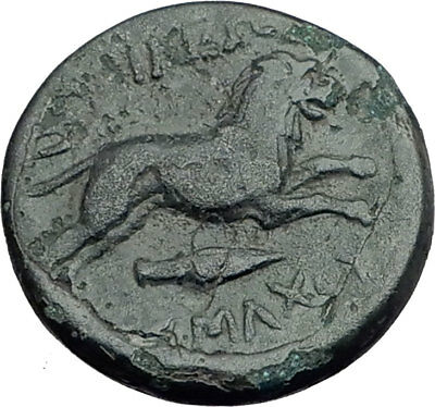 LYSIMACHOS 323BC Authentic Ancient Greek Coin ALEXANDER the GREAT & LION i64793