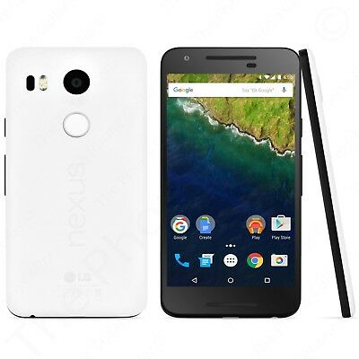 Unlocked LG Google Nexus 5X H791 Quartz White 32GB Pure Android LTE Smartphone
