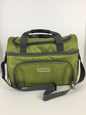 eBags Crew Cooler II Insulated Lunch Food Bag Tote Green Envy