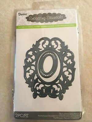 Darice Embossing Essentials Dies Cut Foliage Border 2014-55 NEW