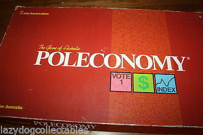 Poleconomy  Vintage Australian Money Game John Sands