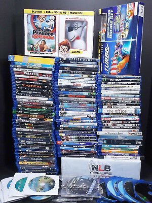 Blu-ray Movie Variation SALE Combined S/H Only .39cents