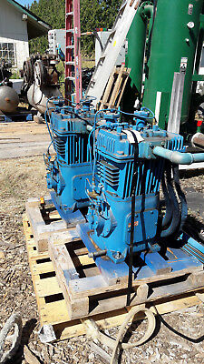 Quincy model 370 high output air compressors