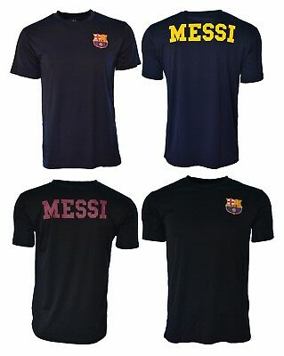 cbec1b4fe81 FC-Barcelona Soccer Jersey Home Training Lionel Messi-10 Navy Black Adult  Barca