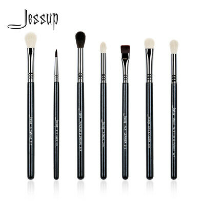 US 7pcs Makeup Brushes Sets Blending Eyeshadow Pencil Cosmetics Brushes Jessup