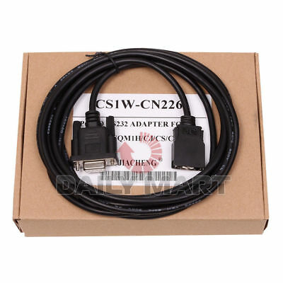 CS1W-CN226 cable PC to RS232 ADAPTER for Omron PLC CS / CJ / CQM1H / CPM2C PLC