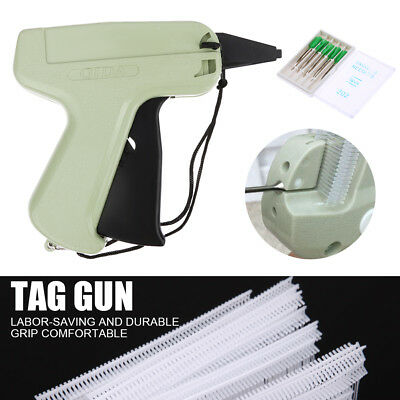 "Clothes Tagging Gun1000 X 3"" Barbs + 5 Needles Garment Price Label Clothes Sock"