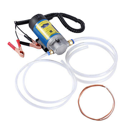 Electric Oil Diesel Fluid Extractor Transfer Pump Scavenge Suction 12V 5A