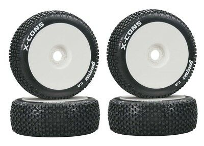 NEW DuraTrax 1/8 Buggy Mounted X-Cons Tire / Wheel DTXC3610
