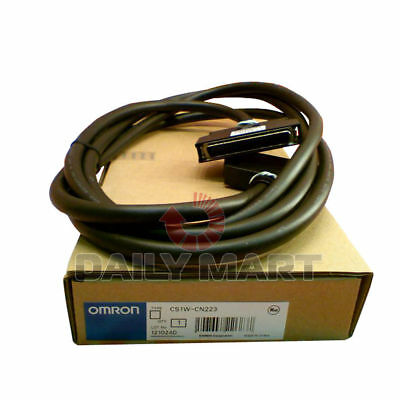 NEW Omron CS1W-CN223 2M I/O Connecting Cable