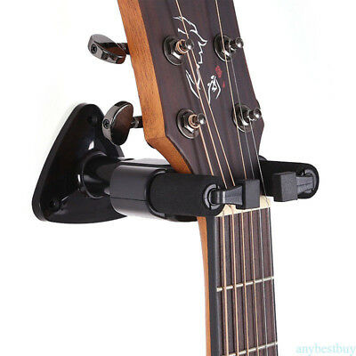 No Bull Guitar Wall Hangers Life Warranty Electric/Acoustic/Bass Balck