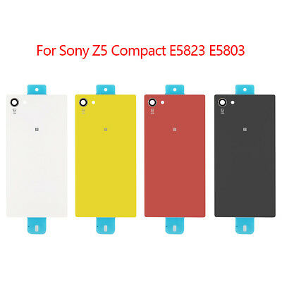 For Sony Xperia Z Z1 Z2 Z3 Z5 Compact Replacement Glass Phone Battery Back Cover