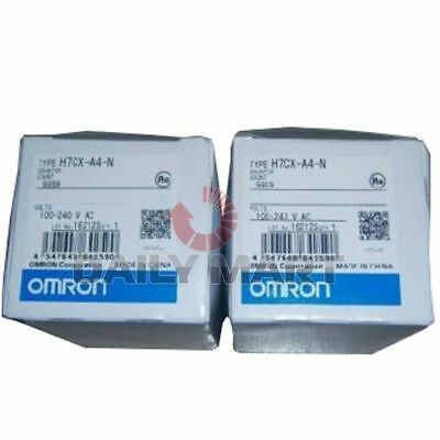 Omron Automation Safety H7CX-A4-N H7CXA4N 100-240AC Multifunction Preset Counter