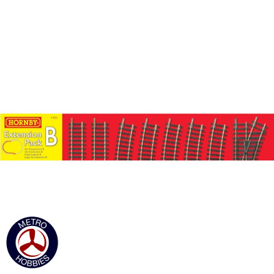 Hornby OO Extension Track Pack B HOR-R8222 Brand New