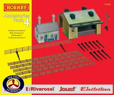 Hornby OO TrakMat Accessories Pack 4 HOR-R8230 Brand New