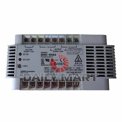 Omron S82K-10024 Plc Ac Dc Converter Power Supply Switch New