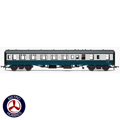 Hornby OO BR Mk1 Coach Brake Second Open W9353 Blue & Grey Livery HOR-R4777 Bran