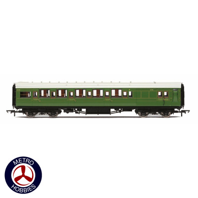 Hornby OO SR Maunsell Corridor Brake Third Class 3779 Olive HOR-R4768A Brand New
