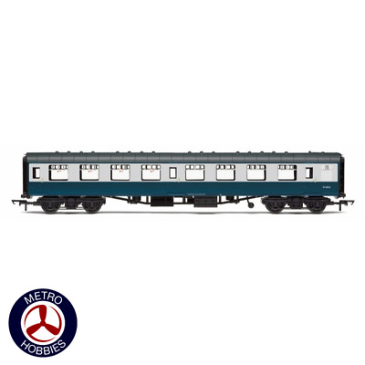 Hornby OO BR Mk1 Coach Second Open Blue & Grey HOR-R4775 Brand New