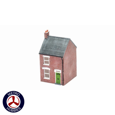 Hornby OO Mid Terraced House Right Hand HOR-R9857 Brand New