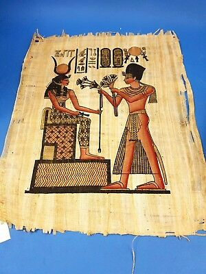 Parchment Papyrus Old Egyptian Wall Painting Pictures with Certificate