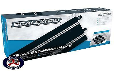 Scalextric Track Extension Pack 5 (8 x C8205 Straights) SCA-C8554 Brand New