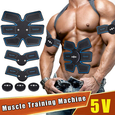 Abdonminal Arm Toning Belt Smarty ABS Muscle Stimulator Ultimate Body Building