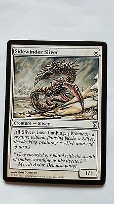 1x SIDEWINDER SLIVER - Rare - Time SPiral - MTG - NM - Magic the Gathering