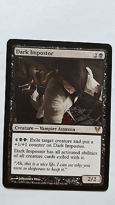 1x DARK IMPOSTER - Rare - Avacyn Restored - MTG - NM - Magic the Gathering