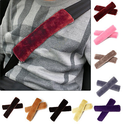 Auto Car Seat Belt Pads Harness Safety Shoulder Strap BackPack Cushion Covers UK