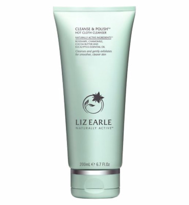 LIZ EARLE 200ml CLEANSE AND POLISH HOT CLOTH CLEANSER