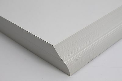 A5, A4 OR A3 SMOOTH NATURAL OFF-WHITE 120gsm OR 160gsm PRINTING PAPER OR CARD.
