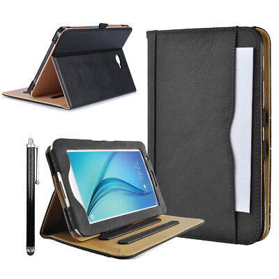 Luxury Magnetic Leather Wallet Smart Case for Samsung Galaxy Tab A T580 E T560
