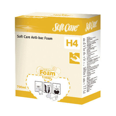 Diversey Soft Care H4 Anti-bacterial Foam Soap 700ml (Pack of 6) 7514369