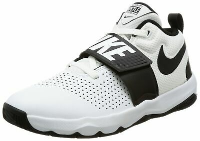 size 40 b8885 f8be0 Nike 881941-100   Kid s Team Hustle D 8 GS Basketball Shoe White Black