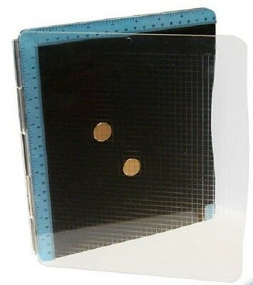 Nellie's Stamping Magnetic Platform For Rubber and Clear stamps - Back in Stock!