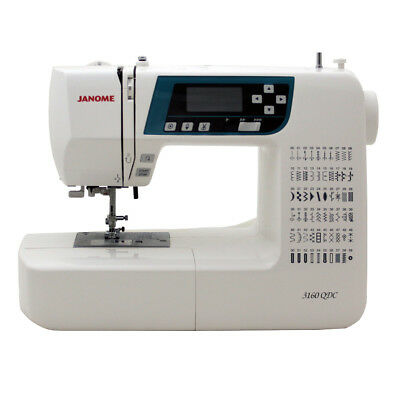 Janome 3160QDC-B Sewing and Quilting Machine w/ Bonus Quilt Kit!